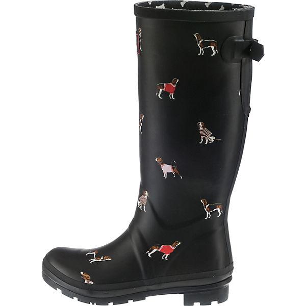 Tom Joule, Printed Gummistiefel, schwarz Schuhe  Gute Qualität beliebte Schuhe schwarz 185a6f