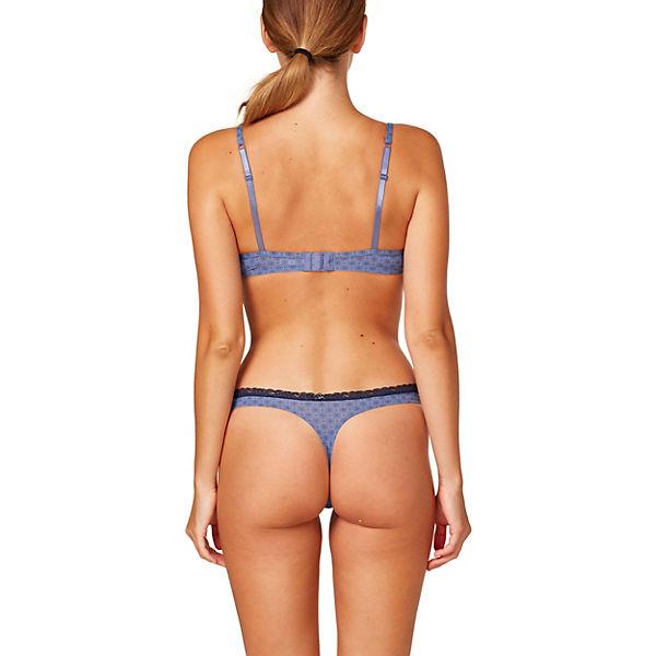 BH Lismore BODYWEAR blau Printed Bügel ESPRIT qC8wBgx