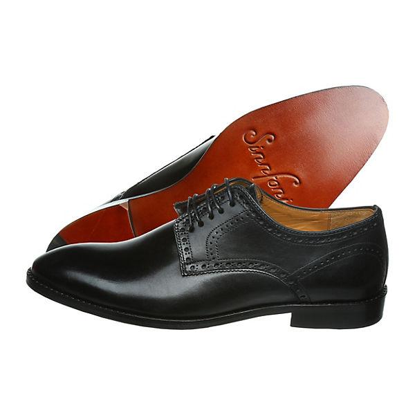 Sinnfonie, CLASSIC AGO Business-Schnürschuhe, schwarz Schuhe  Gute Qualität beliebte Schuhe schwarz a79292