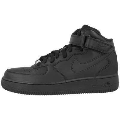 Rabatt Nike Air Force Heels Damen Schuhe Weiß Schwarz