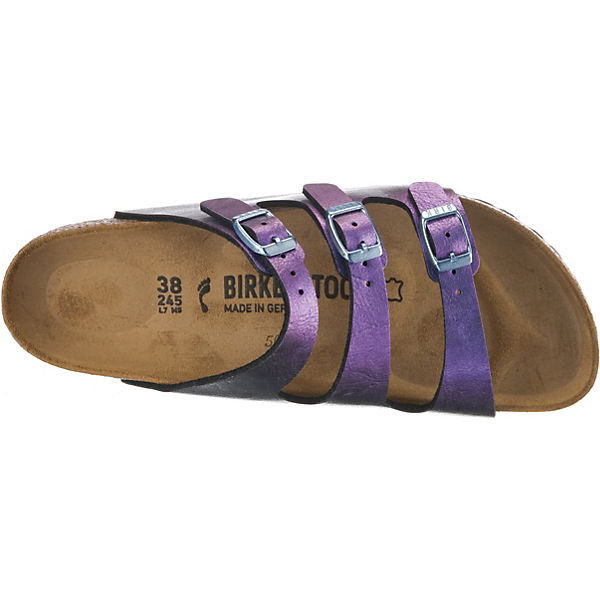 BIRKENSTOCK, Florida schmal Pantoletten, violett Schuhe  Gute Qualität beliebte Schuhe violett a76423
