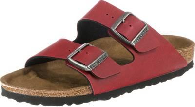 Details zu Birkenstock Arizona Leder Schuhe Washed Metallic Sandalen Pantoletten Hausschuhe