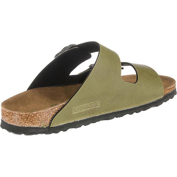 BIRKENSTOCK, Arizona schmal Qualität Pantoletten, khaki  Gute Qualität schmal beliebte Schuhe 2c80fe