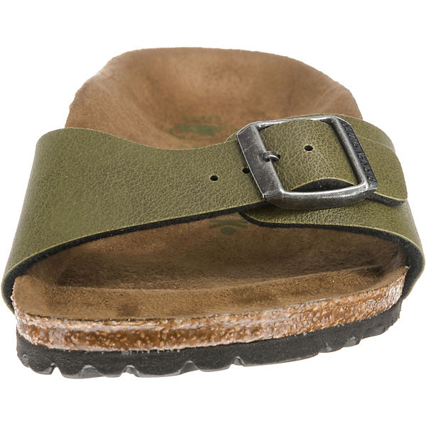 BIRKENSTOCK,  Madrid schmal Pantoletten, khaki  BIRKENSTOCK, Gute Qualität beliebte Schuhe 3a327a