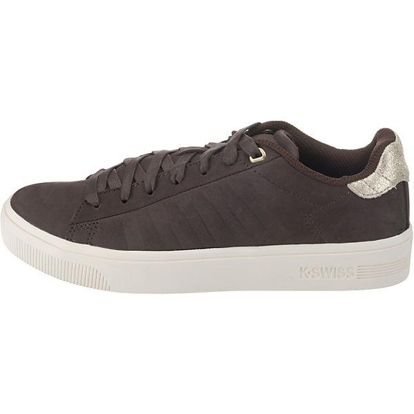 K-SWISS, Court Frasco Sneakers Qualität Low, schwarz  Gute Qualität Sneakers beliebte Schuhe dd9350