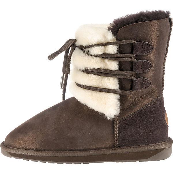EMU Australia, Sorby Schlupfstiefel, braun-kombi Schuhe  Gute Qualität beliebte Schuhe braun-kombi 065138