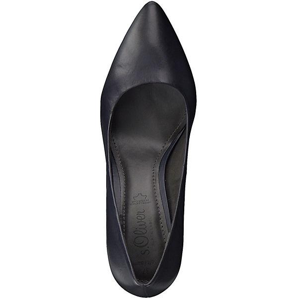 s.Oliver, Klassische Gute Pumps, dunkelblau  Gute Klassische Qualität beliebte Schuhe 0bcbc3