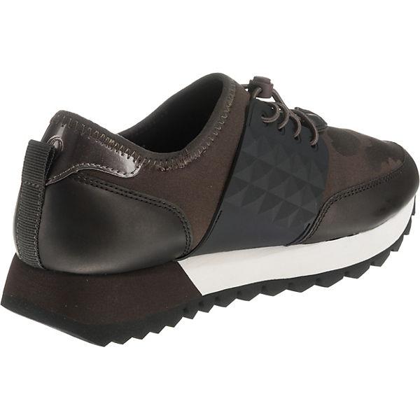 s.Oliver, Sneakers Sneakers s.Oliver, Low, schwarz/grün   af278a