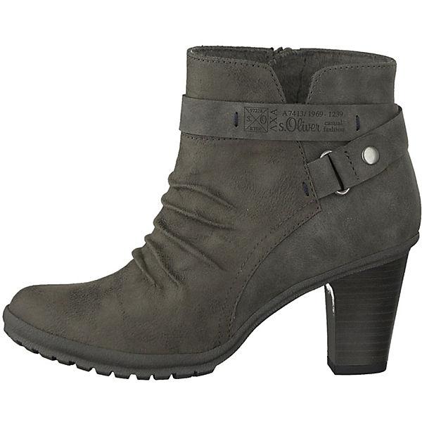s.Oliver, Klassische Stiefeletten, graphit Schuhe  Gute Qualität beliebte Schuhe graphit ccfbac