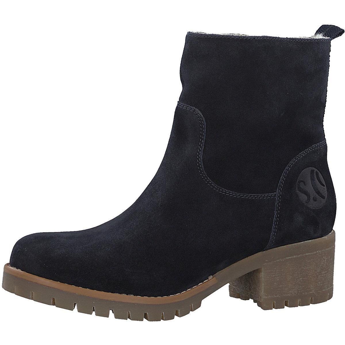 S.Oliver, Winterstiefeletten, dunkelblau  Gute Qualität beliebte Schuhe