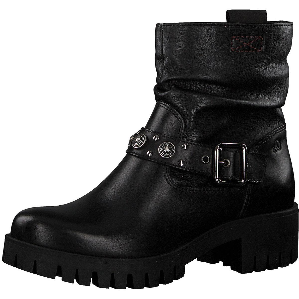 S.Oliver, Biker Stiefel, schwarz  Gute Qualität beliebte Schuhe