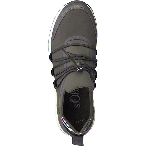 s.Oliver, Sneakers Low, graphit graphit Low,   f259aa