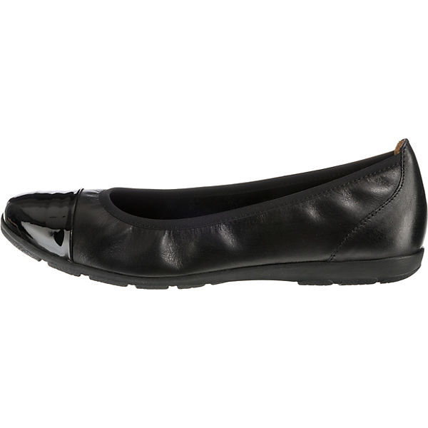 CAPRICE CAPRICE CAPRICE Vivian Klassische Ballerinas schwarz  Gute Qualität beliebte Schuhe 3b56e6