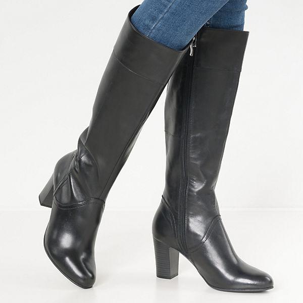 CAPRICE, Britt Klassische Stiefel, schwarz  Gute Qualität Schuhe beliebte Schuhe Qualität 21a3eb