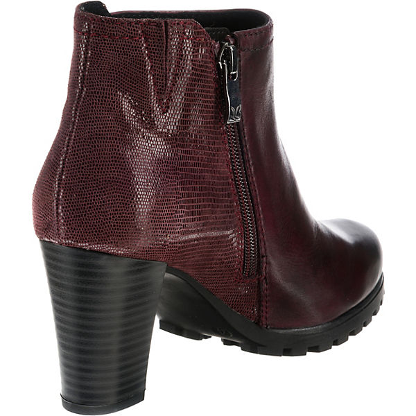 CAPRICE Denise Klassische Klassische Klassische Stiefeletten bordeaux  Gute Qualität beliebte Schuhe d17410