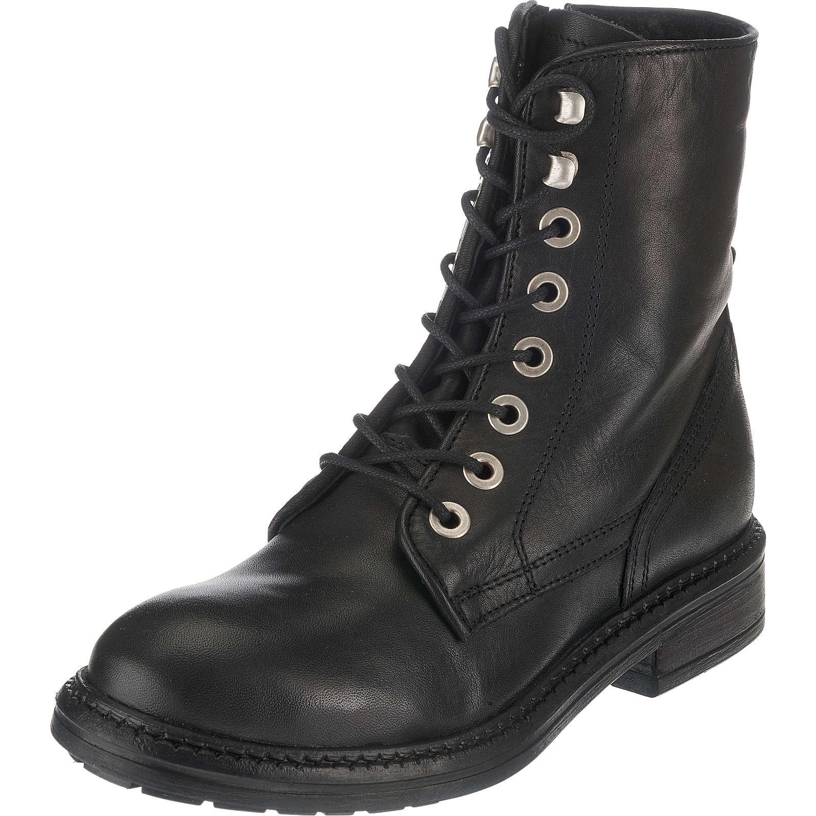 Zign Schnürstiefeletten schwarz Damen Gr. 36