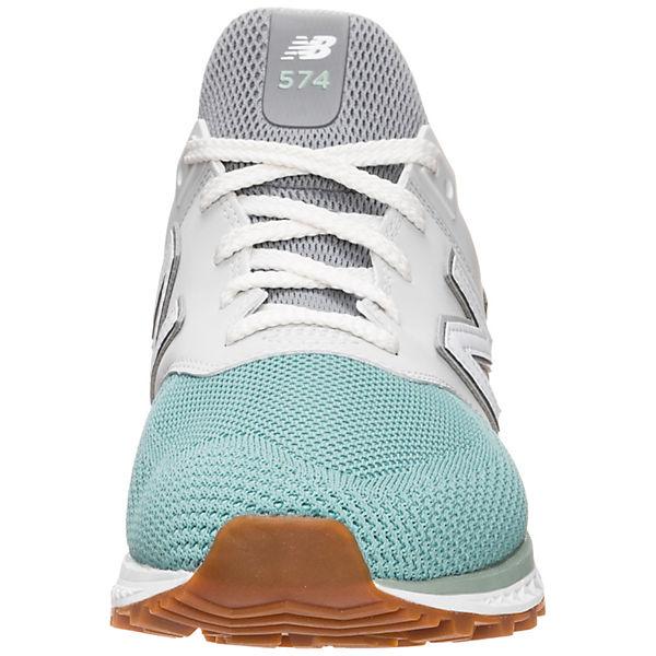 new Low balance MS574 Sport Sneakers Low new grau/grün  Gute Qualität beliebte Schuhe 064684