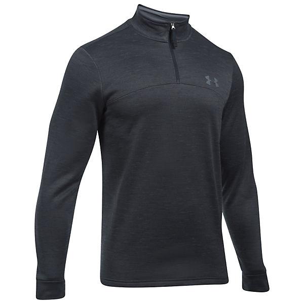 Armour Lightweight SweatFleece schwarz 4 1 Sweatshirts Under Zip 7wxfH61dq