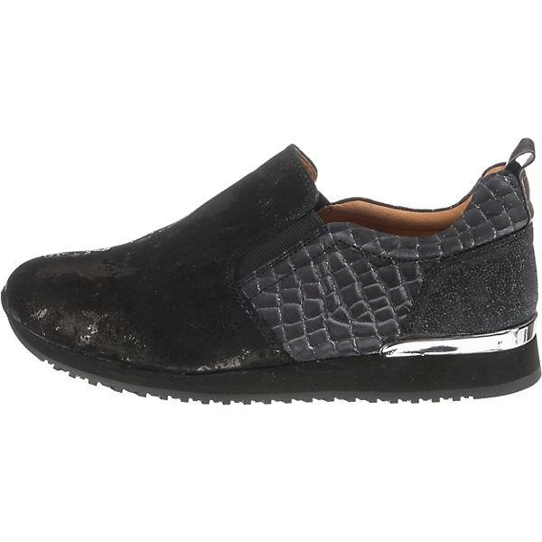 Weite H Slipper und Wechselfußbett CAPRICE Komfort schwarz q86zPWxp