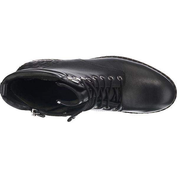 CAPRICE schwarz schwarz Schnürstiefeletten Wechselfußbett Schnürstiefeletten CAPRICE Wechselfußbett CAPRICE Wechselfußbett Schnürstiefeletten CAPRICE schwarz PwaFYPq