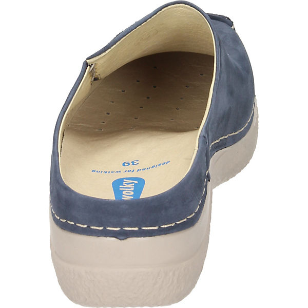 Clogs blau Clogs Wolky Wolky Damnen Damnen Damnen blau Wolky Clogs qqfxw8EAr
