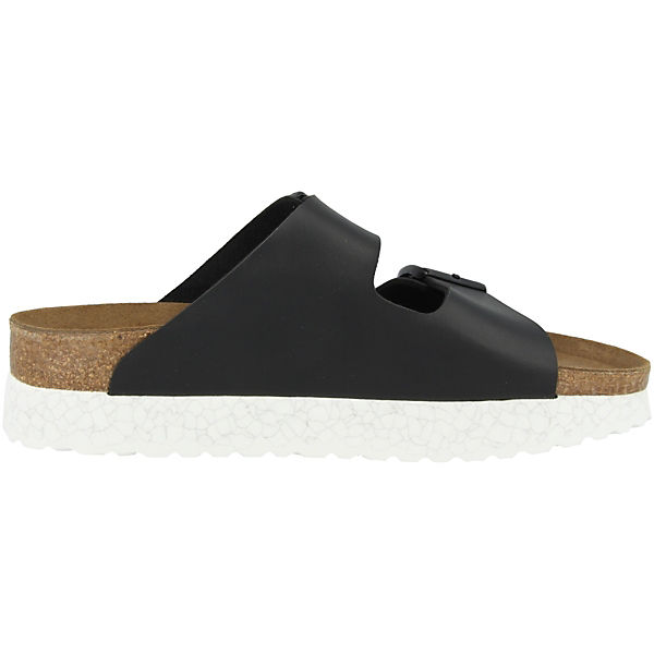 Papillio  by BIRKENSTOCK, Arizona Birko-Flor schmal Komfort-Pantoletten, schwarz  Papillio Gute Qualität beliebte Schuhe 7a9a65