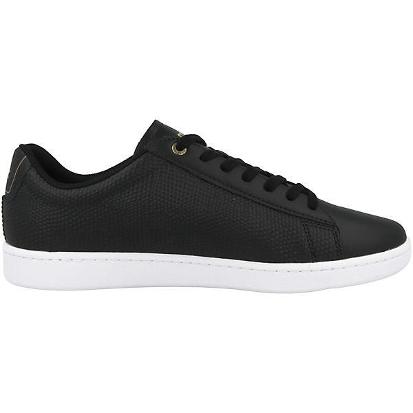 LACOSTE Carnaby EVO 118 2 Sneakers Low schwarz Schuhe  Gute Qualität beliebte Schuhe schwarz 94ae9b