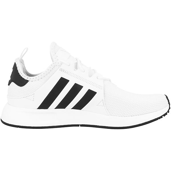 Low Sneakers adidas weiß Originals PLR X qO6wIt6