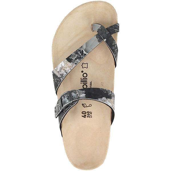 Papillio by Gute BIRKENSTOCK Tabora Birko-Flor normal Zehentrenner grau  Gute by Qualität beliebte Schuhe 04bea4