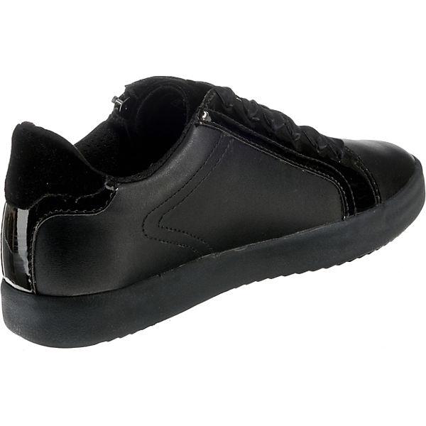 GEOX, BLOMIEE Sneakers Low, schwarz  Gute Gute Gute Qualität beliebte Schuhe 57034f