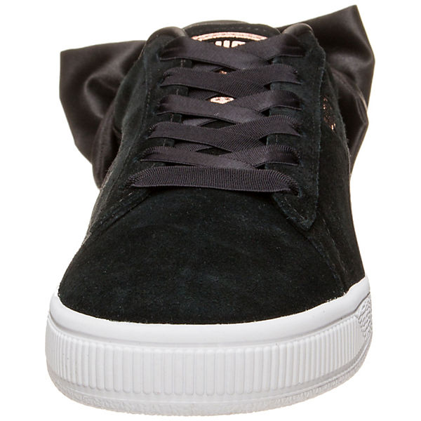 Low Sneakers Bow PUMA schwarz Suede wp76xqt0