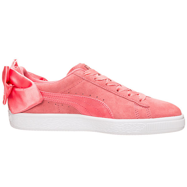 Bow Sneakers rosa Low Suede PUMA SHqwFF