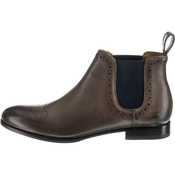 HAMILTON Chelsea amp; Boots 16 MELVIN Sally grau 6SABxq