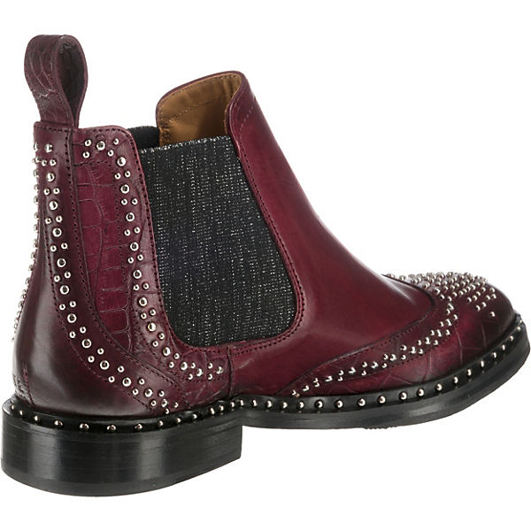 Boots Chelsea Sally MELVIN HAMILTON amp; bordeaux 45 xUqn6XHWA
