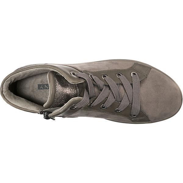 JENNY, Miami Wechselfußbett Turnschuhes High, Schuhe beige Gute Qualität beliebte Schuhe High, 633ea9