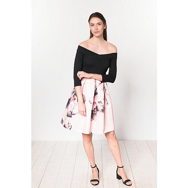 schwarz pink Anna Anna Field Field Kleid nOvYURqv