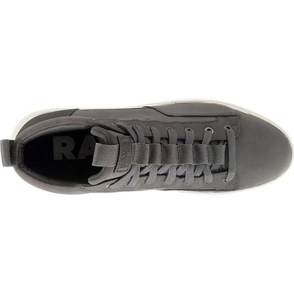 G High star Core Raw Sneakers Grau Rackam Mid q4qr7xFY