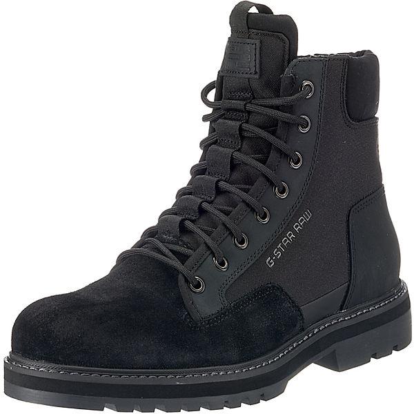 G Boot Powel STAR schwarz Schnürstiefeletten RqR6B01w