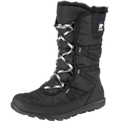 Whitney Tall Lace Ii-black Winterstiefel