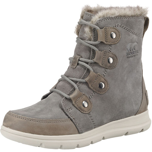 Sorel Explorer Joan-quarry, Black Winterstiefeletten