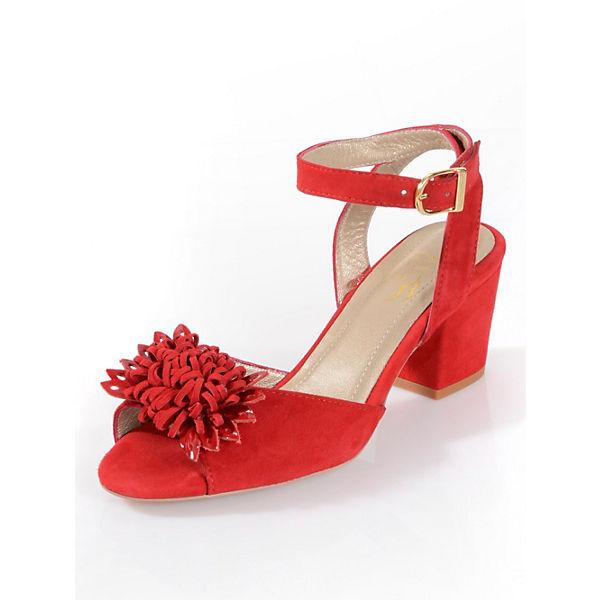 Alba Moda Riemchensandaletten rot  Gute Qualität beliebte Schuhe