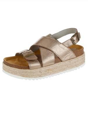 Sandalette Alba Moda bronze