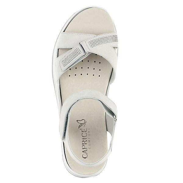 CAPRICE, Klassische Sandalen, silber  Gute Qualität beliebte Schuhe