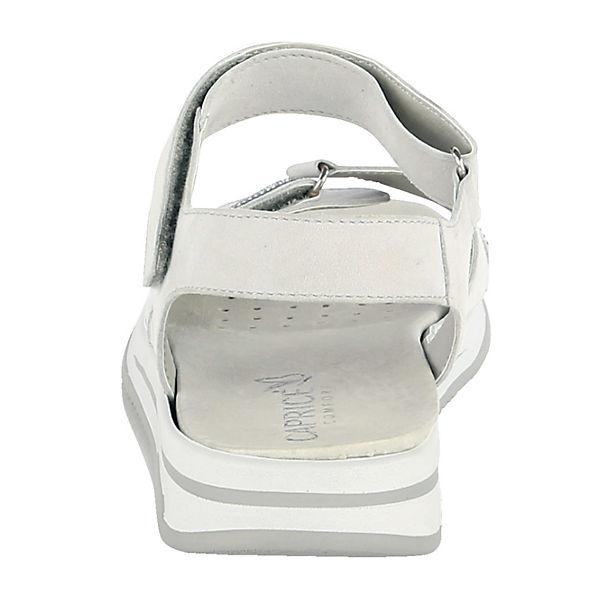 CAPRICE, Klassische Sandalen, silber  Gute Qualität beliebte Schuhe Schuhe Schuhe 818734