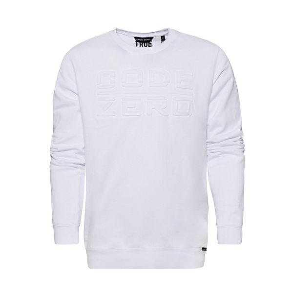 Sweatshirts ZERO weiß ZERO TACK TACK CODE CODE Sweatshirts weiß TBvqHwx17n