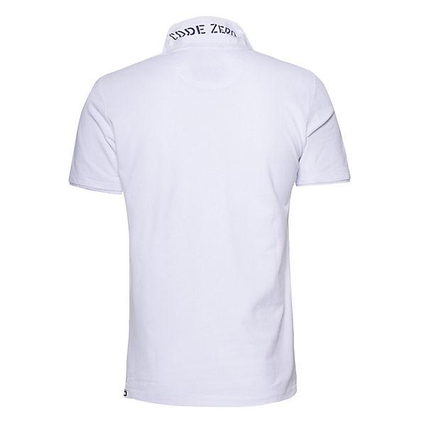 ZERO CODE STERN STERN Poloshirts ZERO Poloshirts weiß CODE qZW6R