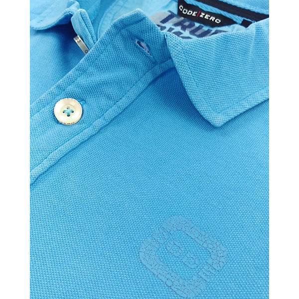 ZERO Poloshirts türkis STERN CODE blau BSzgqZqw
