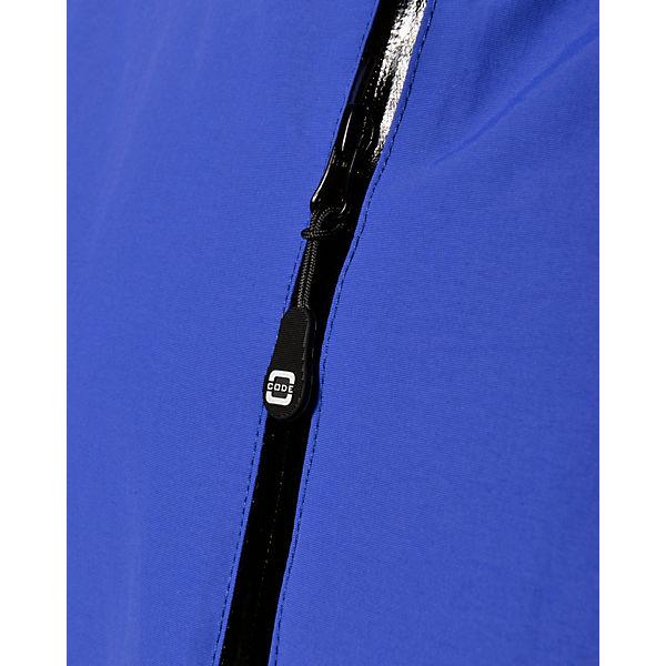 CLEW CODE ZERO ZERO blau CODE Outdoorjacken w8UCZq