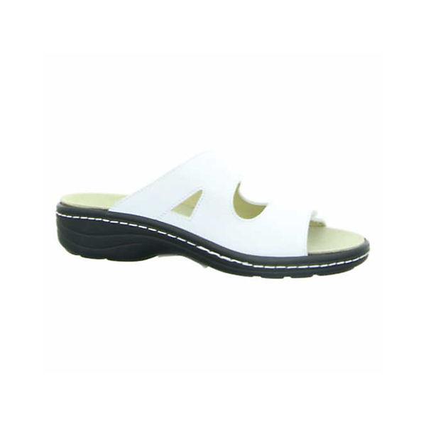 Longo, Komfort-Pantoletten, beliebte weiß  Gute Qualität beliebte Komfort-Pantoletten, Schuhe dfd3b4