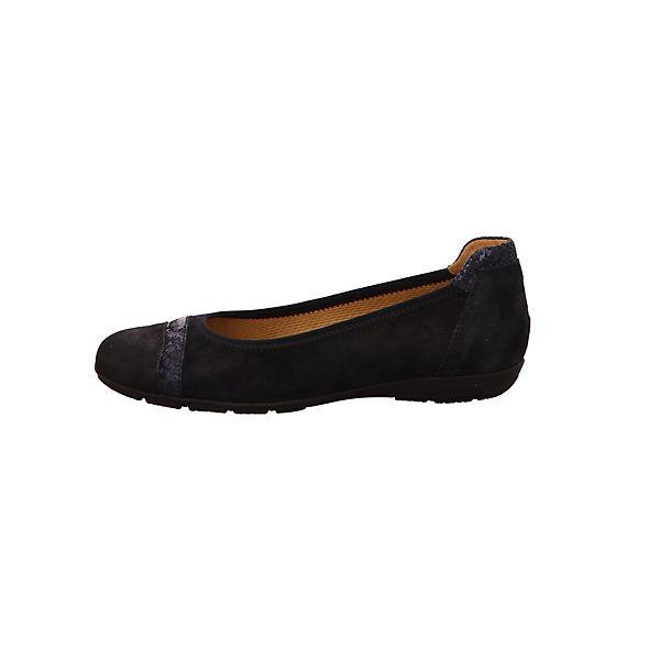 Gabor, Klassische Ballerinas, blau  Gute Qualität beliebte Schuhe